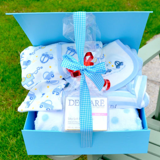 Declare baby boy Hamper corporate baby gift