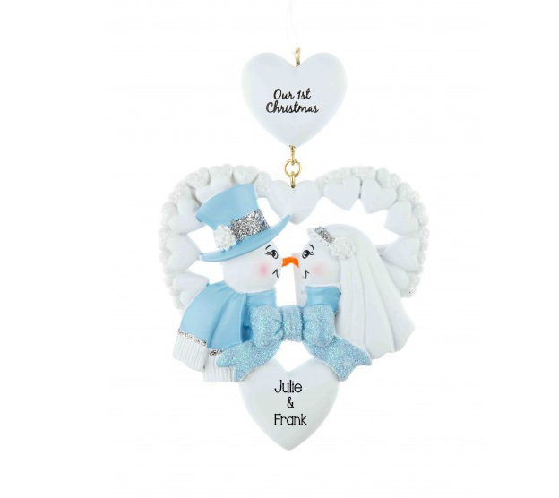 Our 1st christmas personalised hanging christmas for Christmas decoration 94