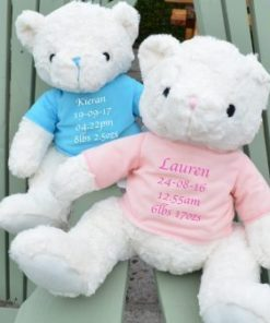 personalised keepsake teddy bear