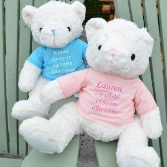 personalised keepsake teddy bear