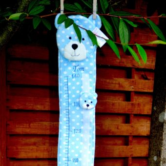 personalised baby height chart