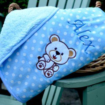 Personalised Baby Blankets & Comforters
