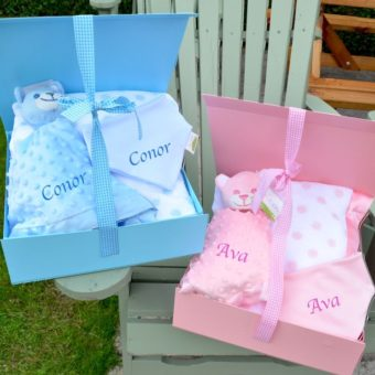 Pink & Blue Baby Gift Hampers