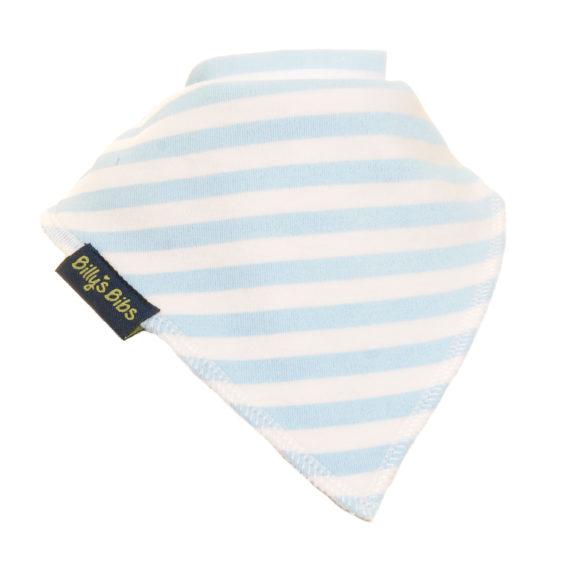 extra absorbent bandana bib Little Blue Strip