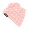 extra absorbent bandana bib pink Hearts