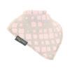 extra absorbent bandana bib pink & grey