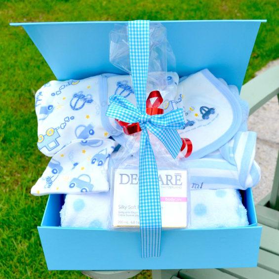 Declare baby boy Hamper corporate baby gift