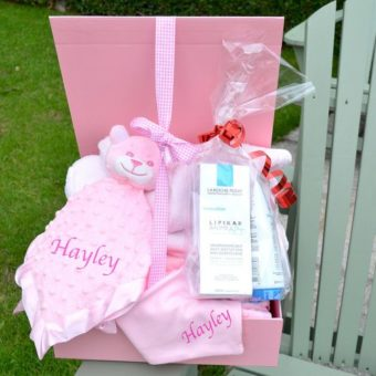 personalised baby Hamper corporate baby gift LaRochePosay