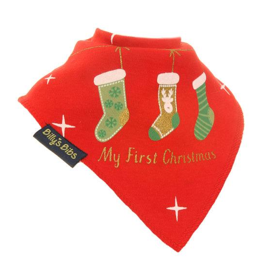 Christmas Stocking bib