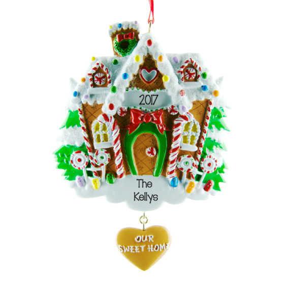 personalised Christmas decoration