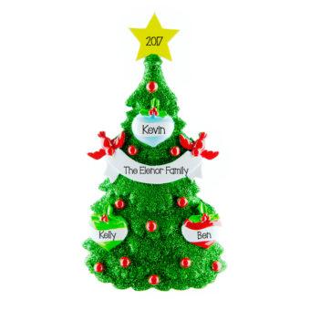 personalised Christmas decoration