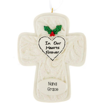Christmas In our Hearts ornaments