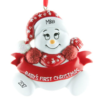 Christmas Baby Ornaments