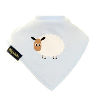 Extra absorbent billy's bibs Blue Sheep