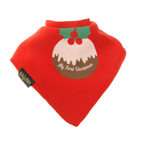 Extra absorbent billy's bibs christmas pudding