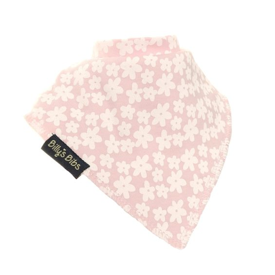 Extra absorbent billy's bibs Pink Flowers