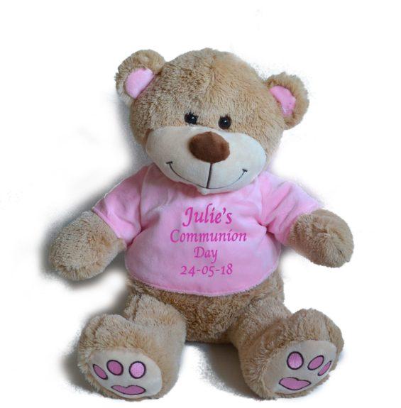 personalised communion bear