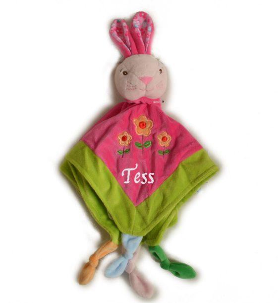 personalised bunny comforter