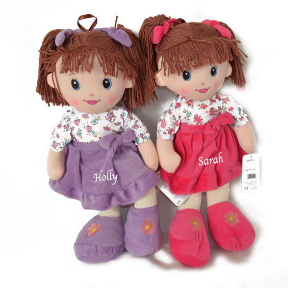 Large personalised Rag Doll