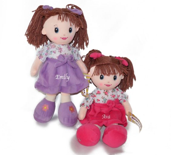 Small personalised Rag Doll