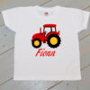 tractor white t shirt