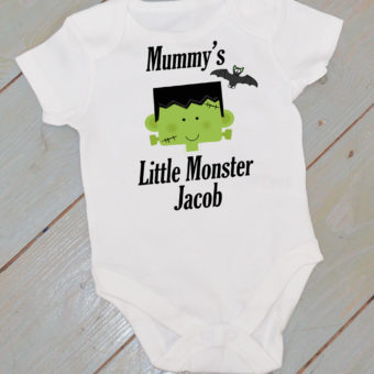 Personalised Halloween Baby Clothes