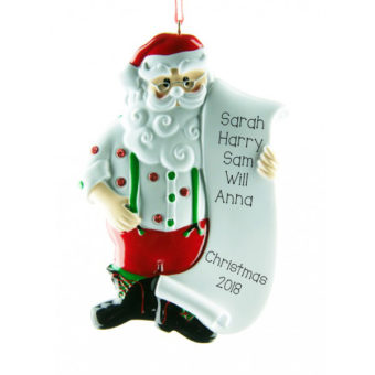 Christmas Ornament 1 Person
