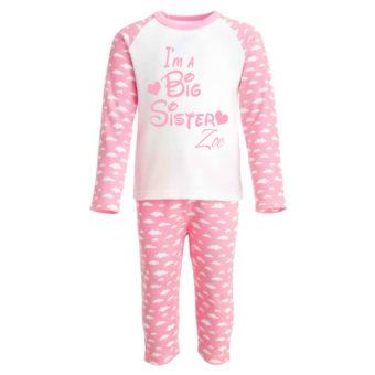 kids pink pyjamas big sister