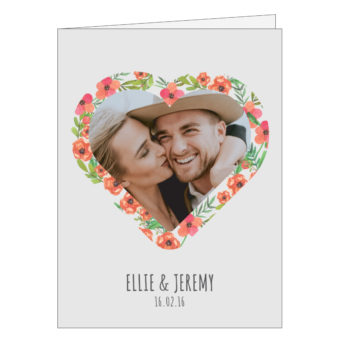 Personalised Love Card