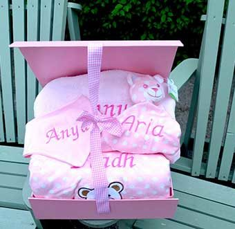 Personalised Baby Gift Hampers