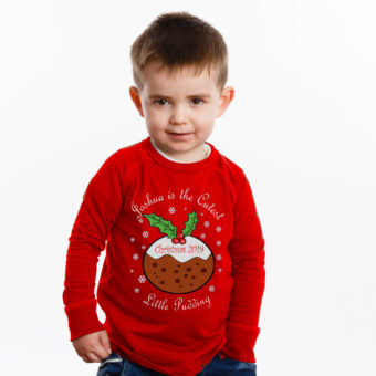 Personalised Christmas Kid's T-Shirts