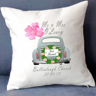 Personalised Wedding Cushions