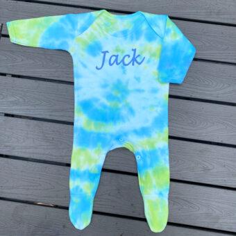 Tie Dye Baby Grow