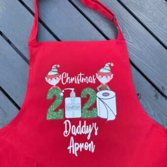 Personalised Adult Christmas Aprons