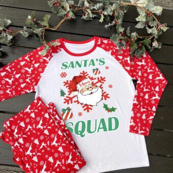 Personalised Family Christmas Pyjamas