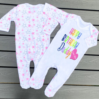 Personalised Baby Gros